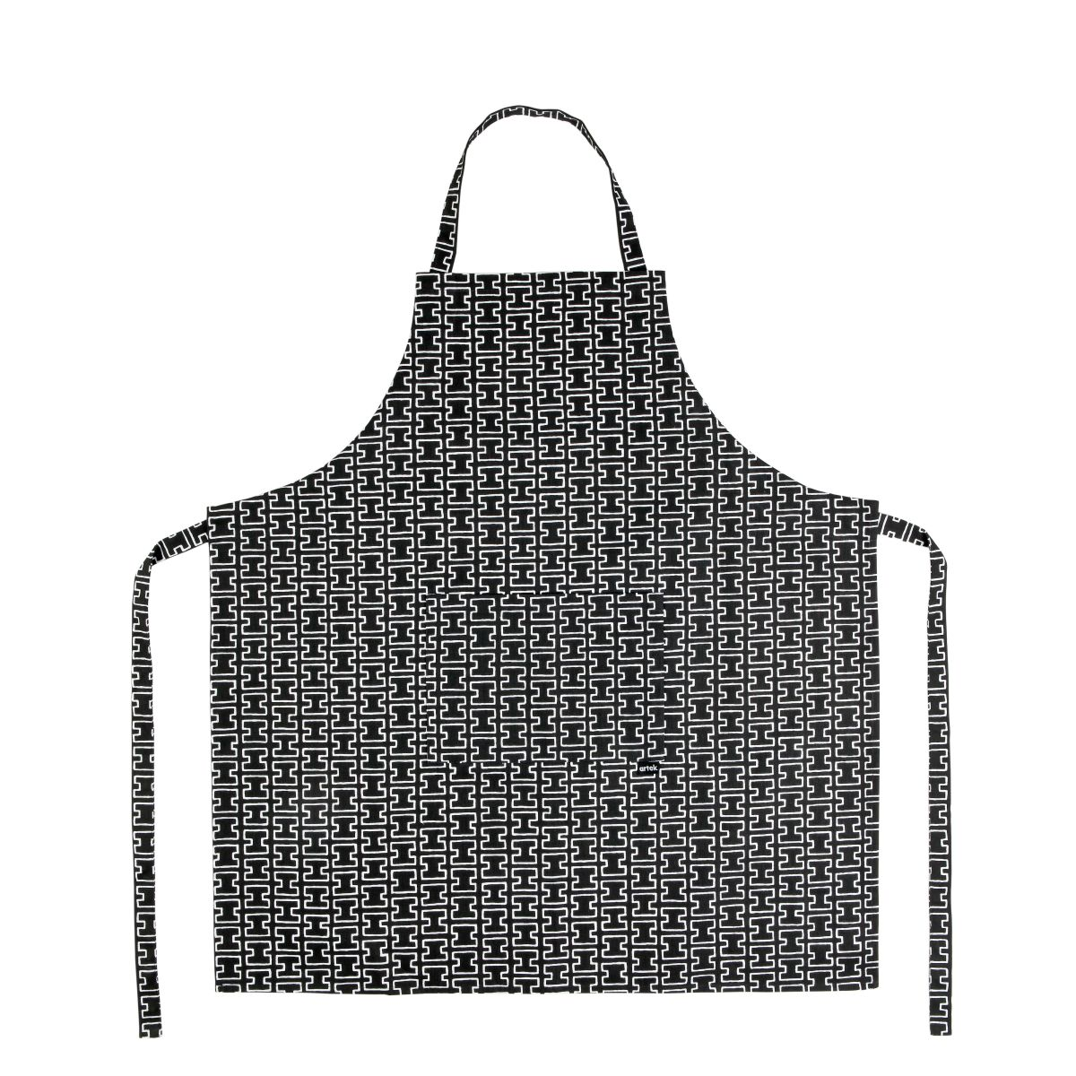 H55 Apron grey / white_WEB