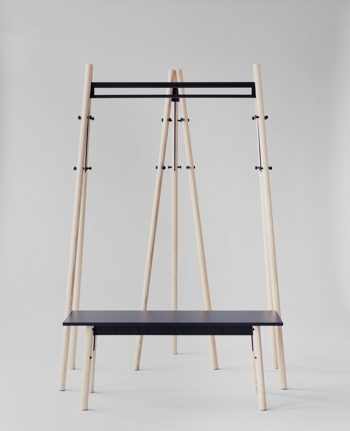 Kiila bench Kiiila coat rack Kiila coat stand