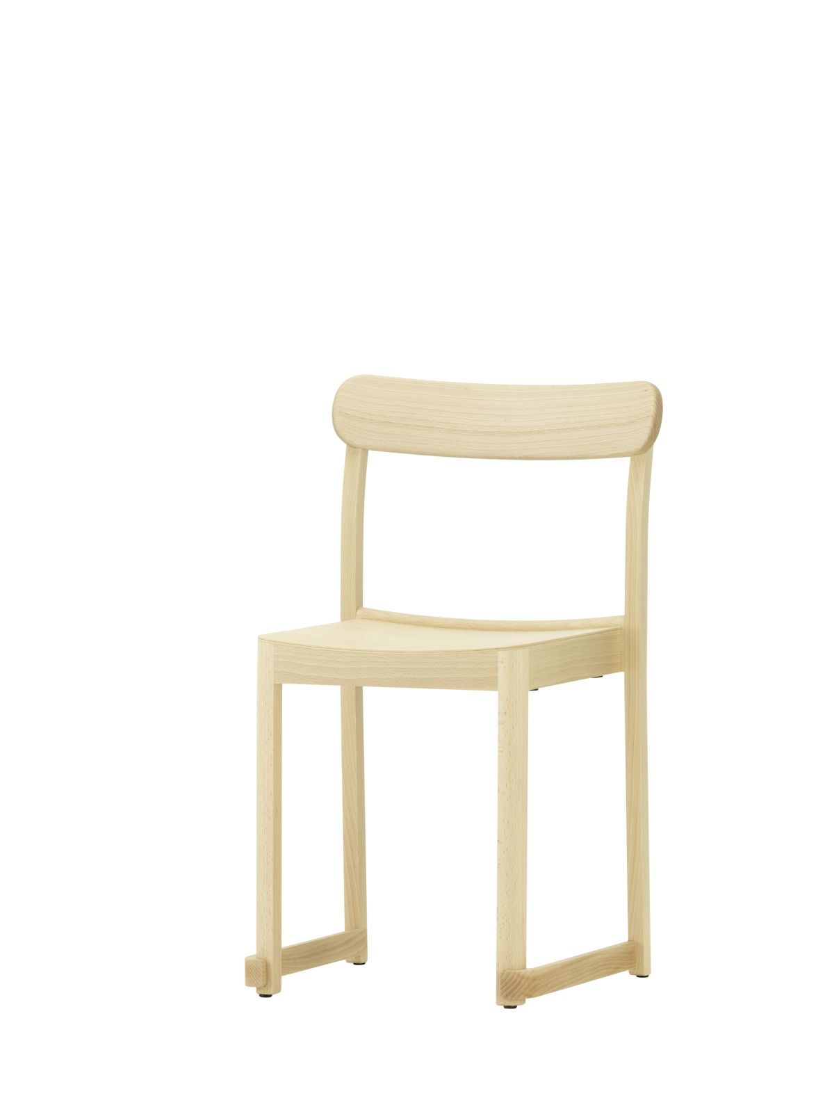 Atelier Chair natural lacquered beech_F