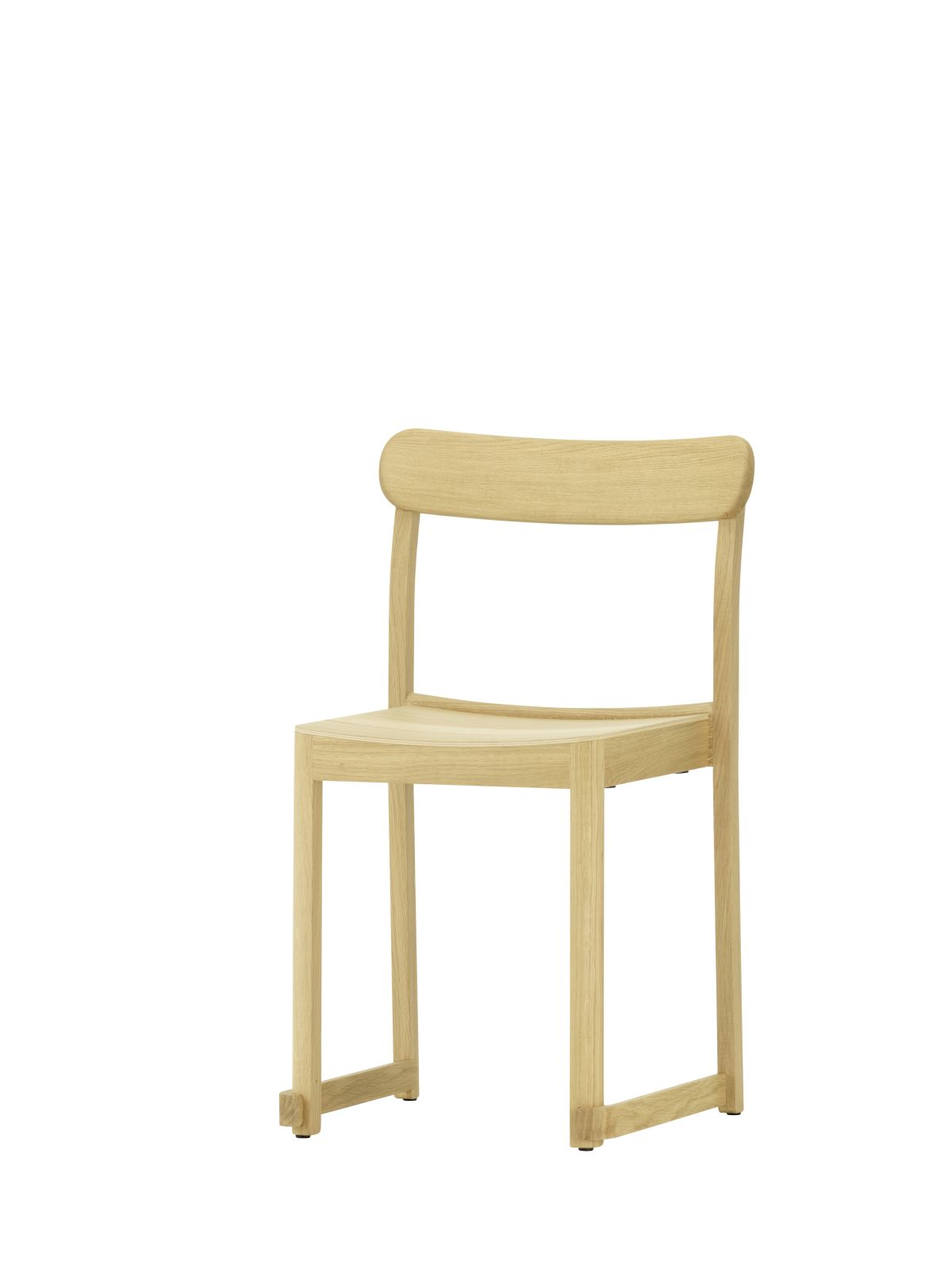 Atelier Chair natural lacquered oak_F