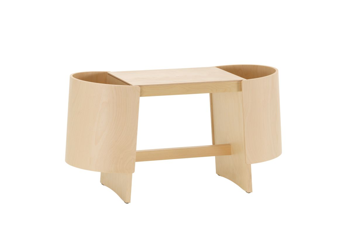 Kiulu Bench B, natural lacquered_F