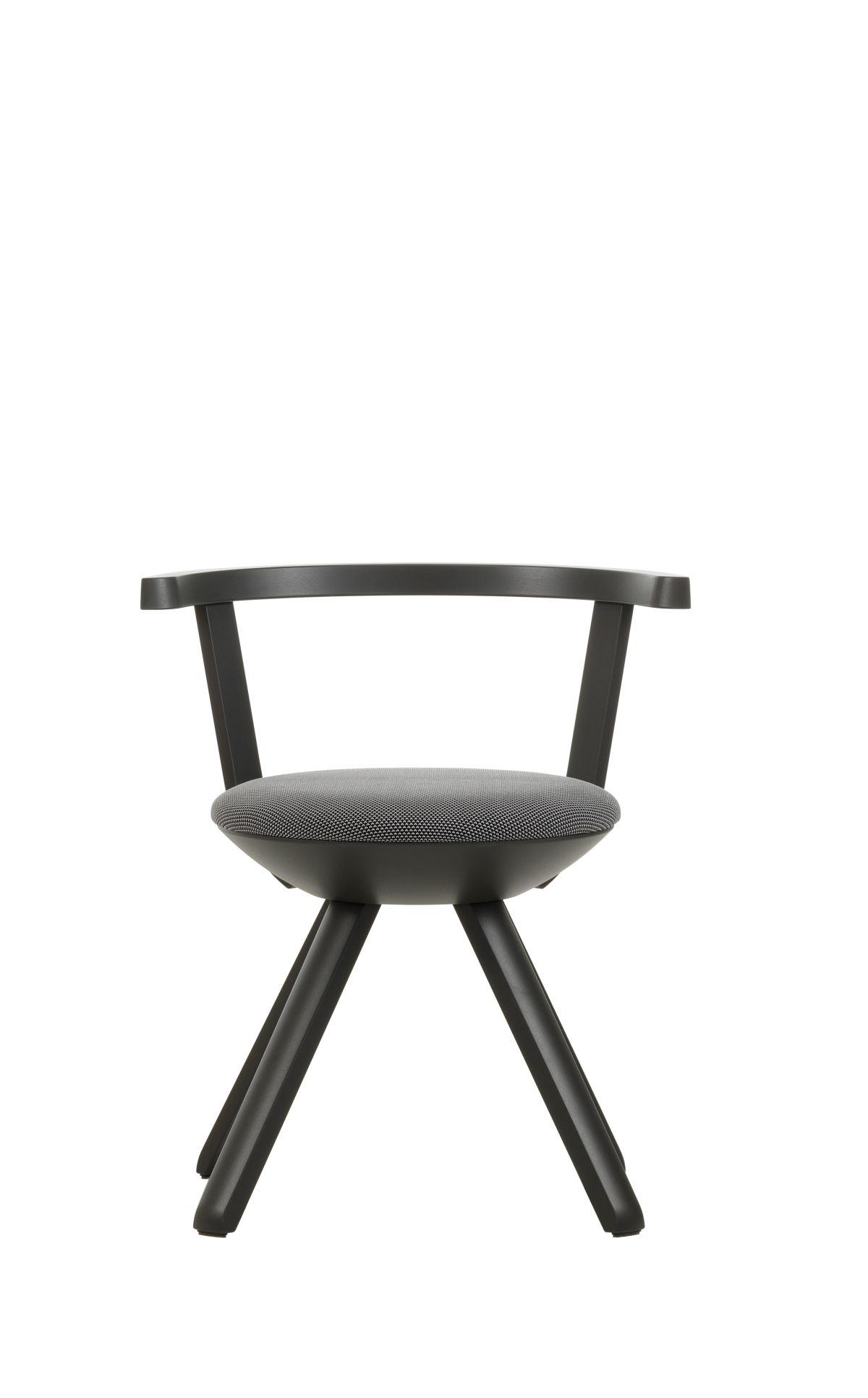 Rival-Chair-Kg001-Asphalt-Lacquer-Black-White-3D-Knit-Upholstery