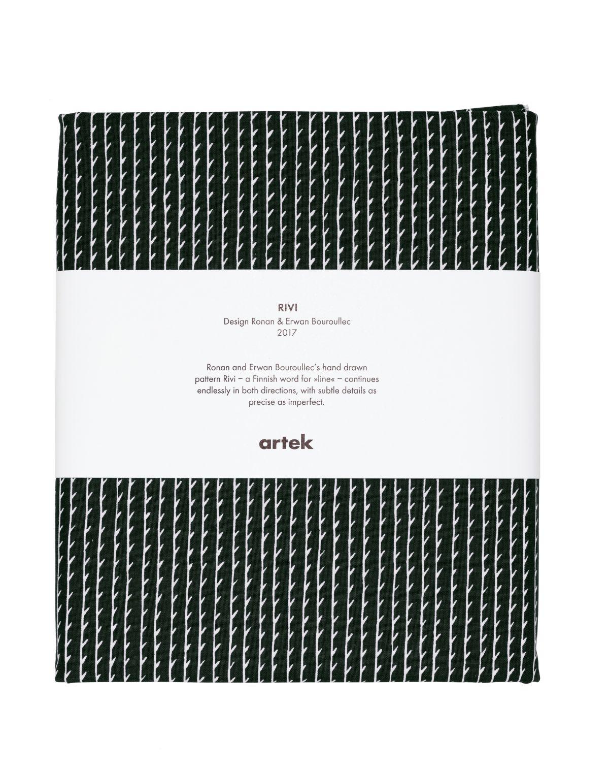 Rivi Fabric pre-cut black_white_F