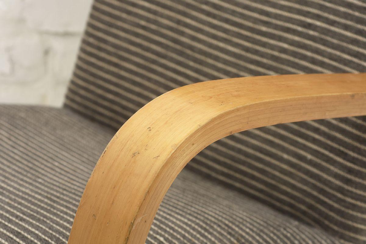 Aalto-Alvar-401-Armchair-gray-stripes_detail3