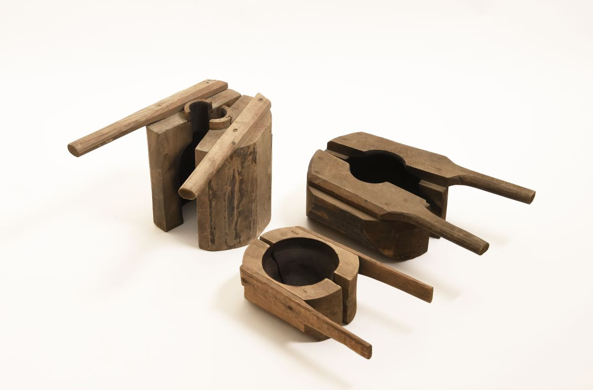 Anonymous-Wooden-Mold-Glass-Blowing