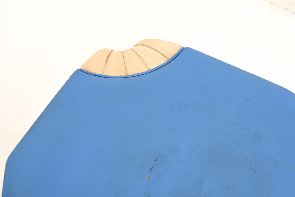 Aalto-Alvar-Stool X-602-Blue_detail1