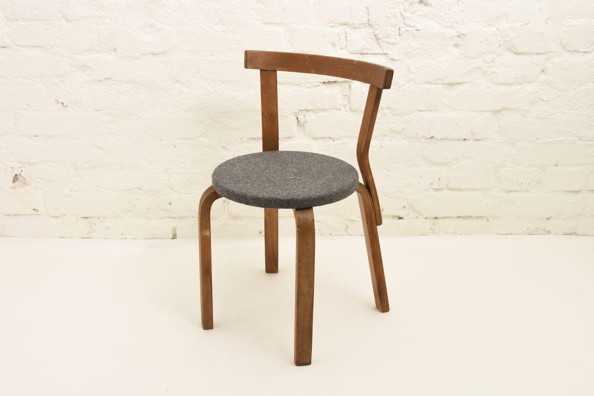 Aalto-Arvar-Chair68-Gray-Fabric-Seat