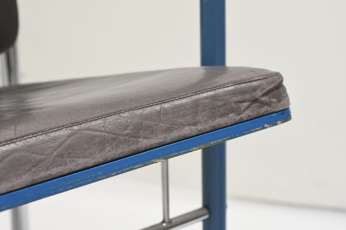 Kukkapuro-Yrjö-Armchair-Blue-Leather_detail6