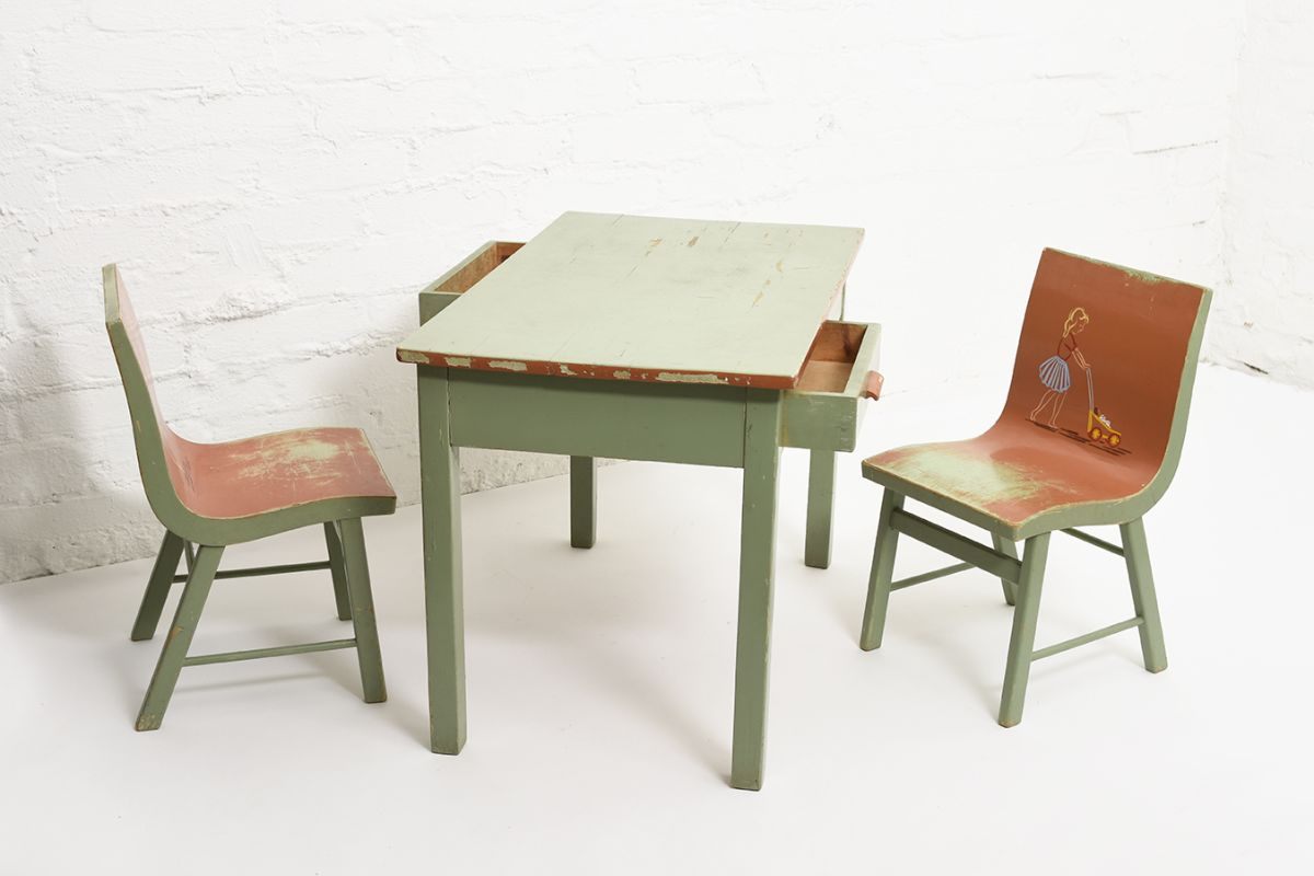Toivonen-Eevert-Kids-Table-Green_set