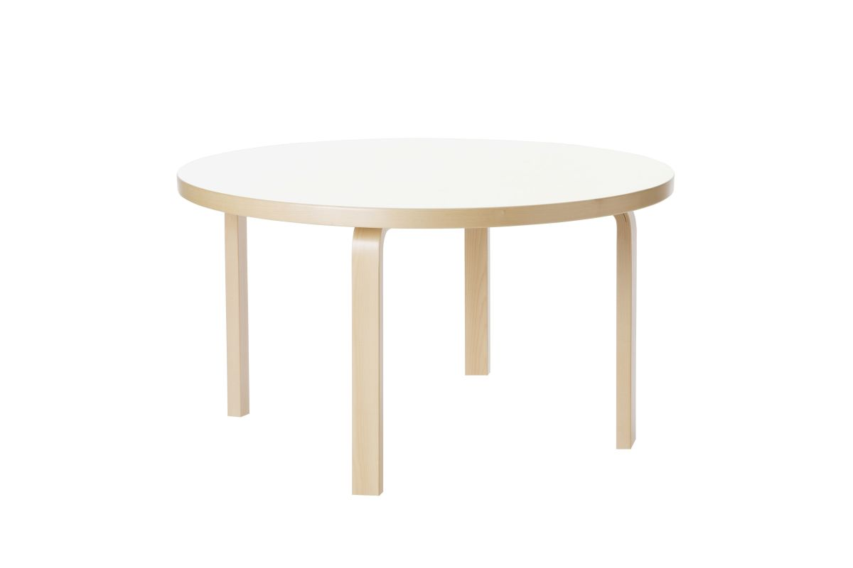 Aalto-Childrens-Table-round-90A-legs-and-edge-band-birch-top-white-HPL-4274815