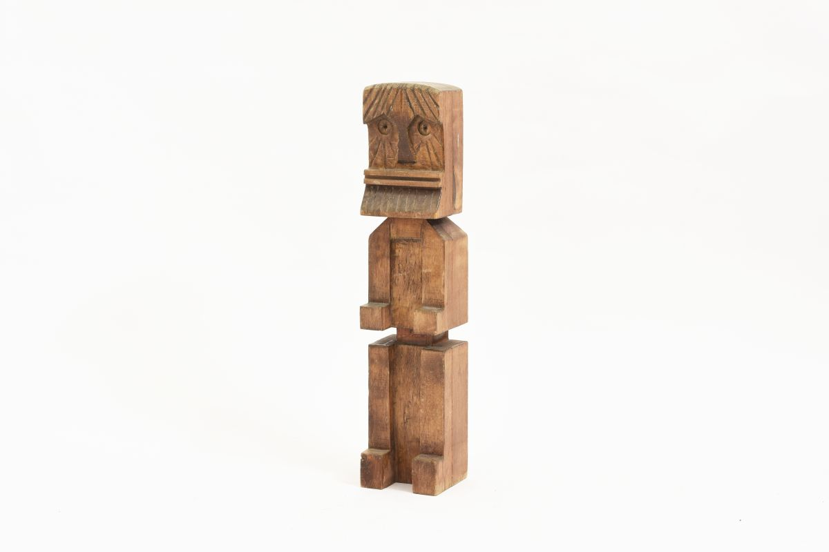 Anonymous-Finnish-Folky-Toy-Sculpture