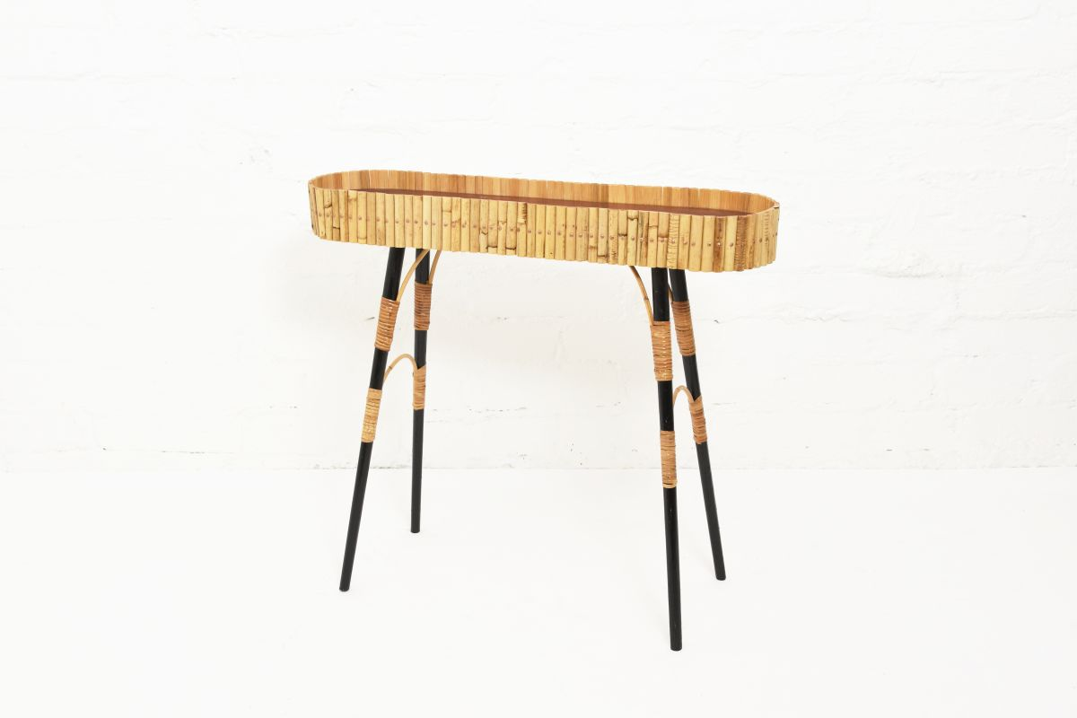 Anonymous-Rattan-Flower-Table