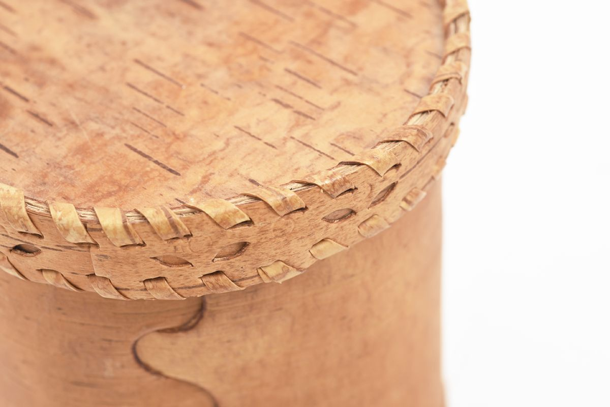 Anonymous-Birch-Bark_Container_detail1