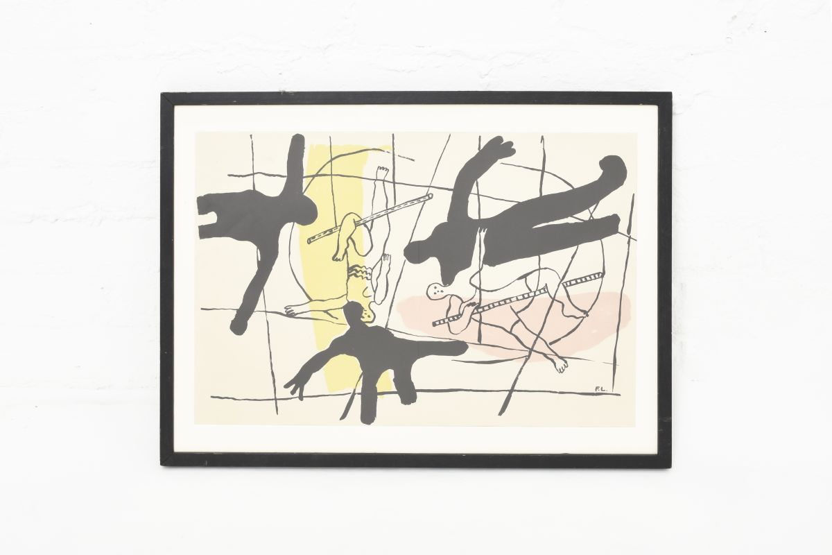 Leger-Ferand-Cirque-Poster