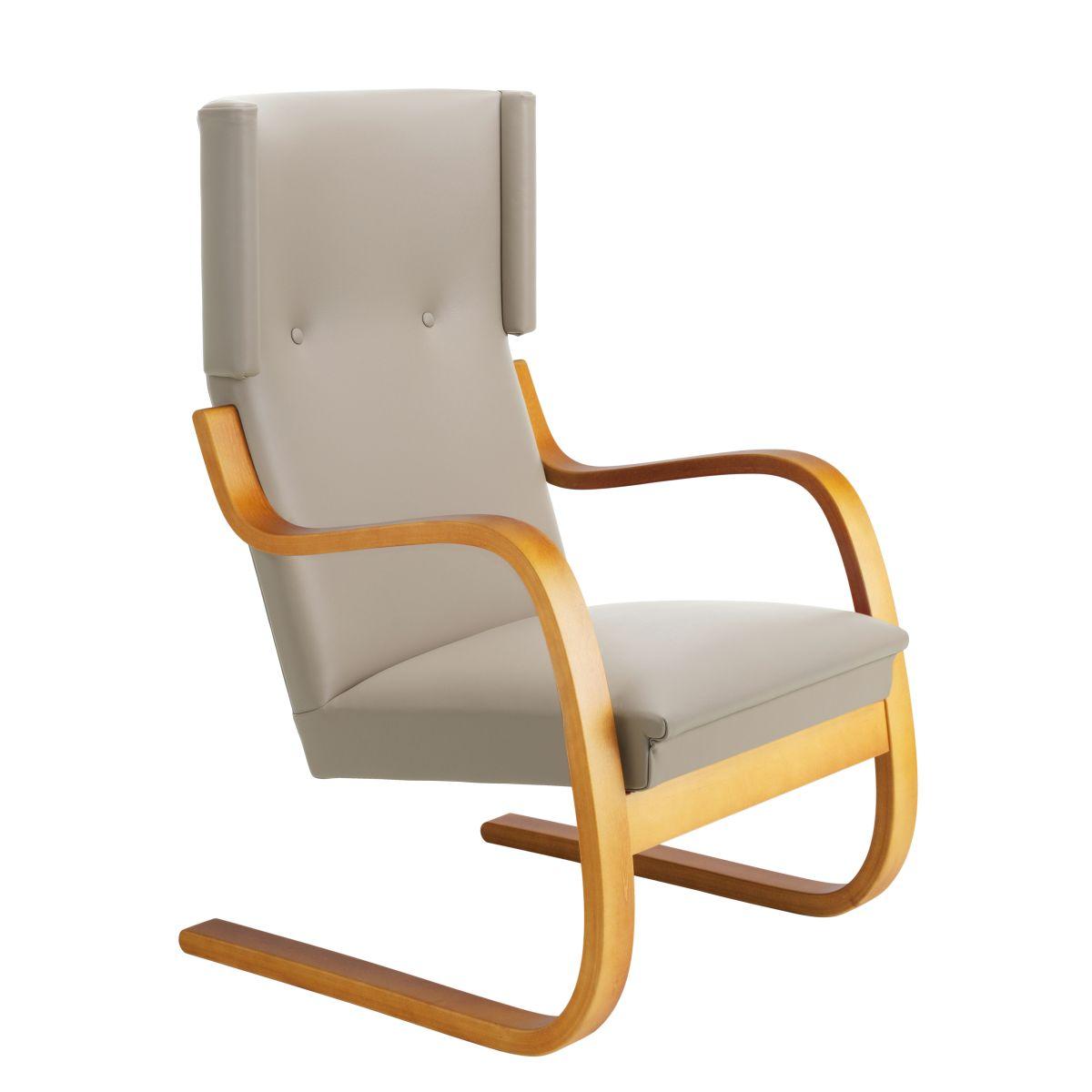 Armchair-401-honey-stain_seat-upholstery-Sörensen-Prestige-beige_F-2912663