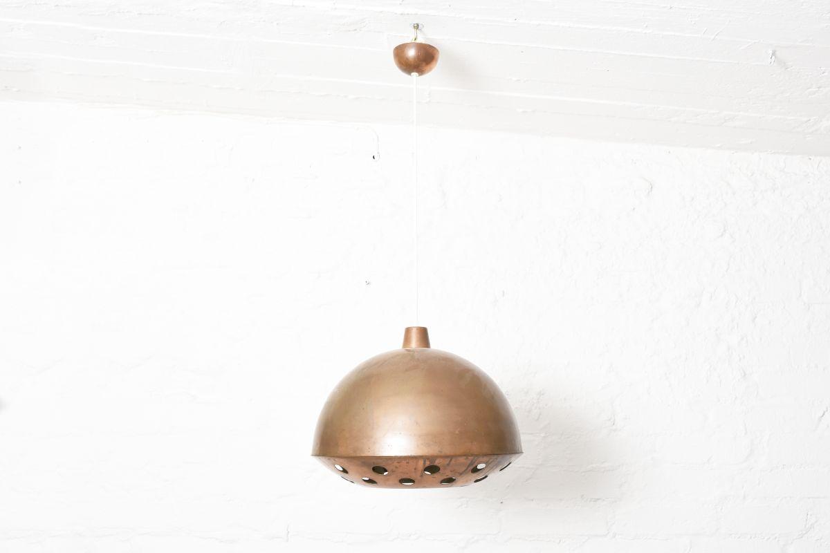 Nummi-Yki-Orno-Copper-Ceiling-Lamp