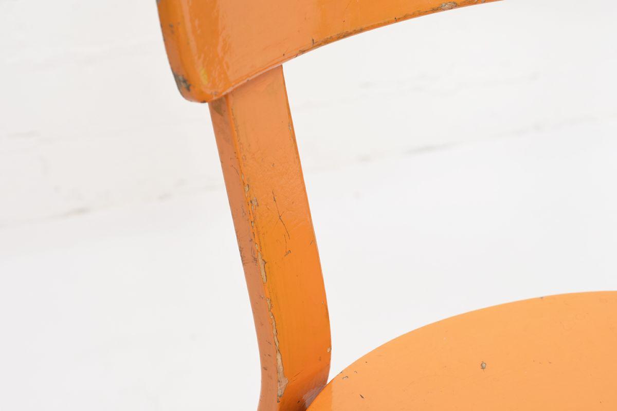 Aalto-Alvar-Chair69-Painted-Blight-Orange_detail5