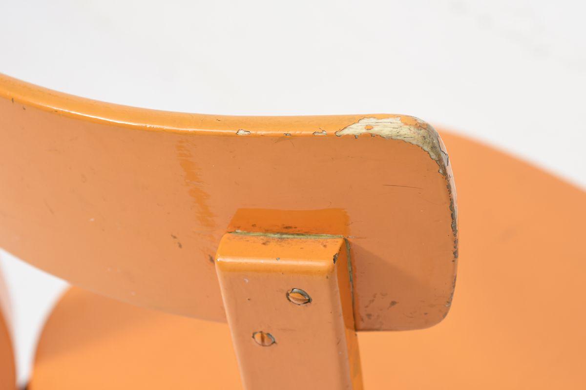Aalto-Alvar-Chair69-Painted-Blight-Orange_detail8