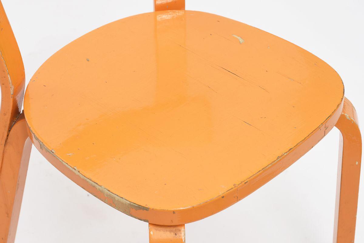 Aalto-Alvar-Chair69-Painted-Blight-Orange_detail9