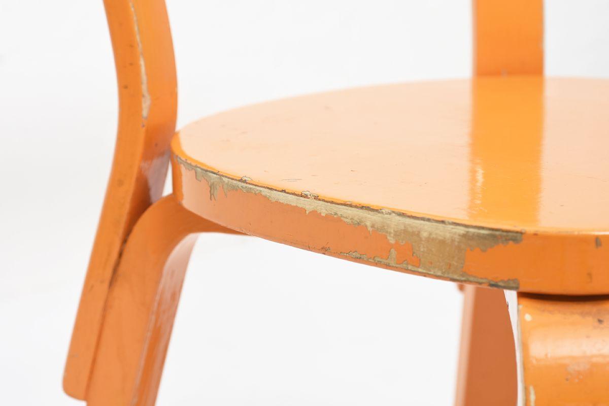 Aalto-Alvar-Chair69-Painted-Blight-Orange_detail11