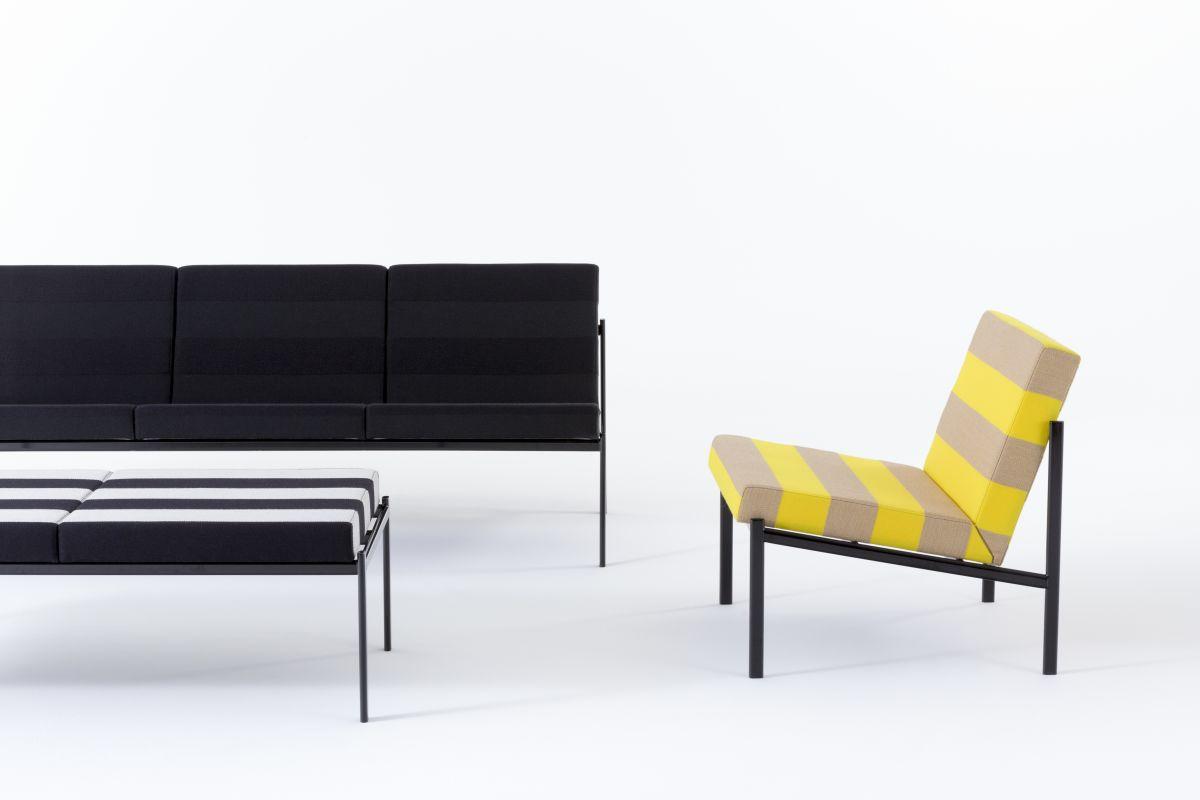 Kiki Collection cropped Kvadrat/Raf Simons upholstery