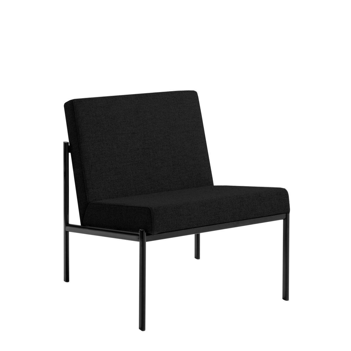 Kiki Lounge Chair black upholstery