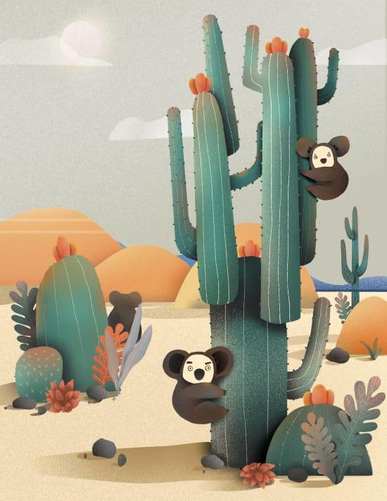 Illustration by Xiaoyu Li