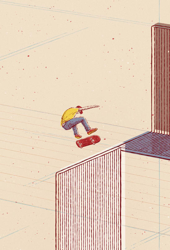 Illustration by Bartosz Kosowski