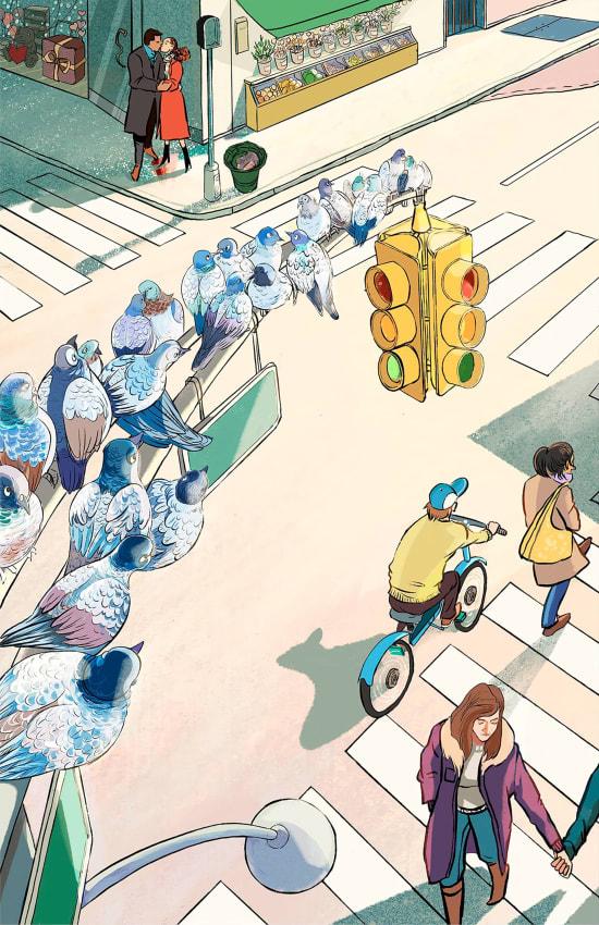 Illustration by Yueming Li