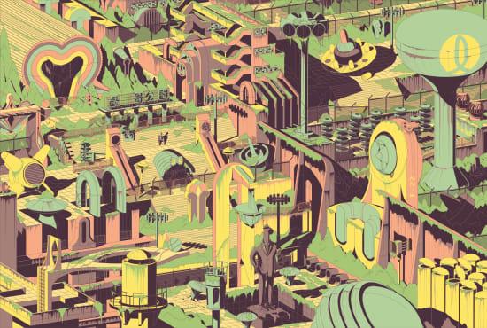 Illustration by TLaloC  a.k.a: Eduardo Corral