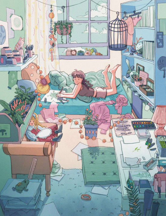 Illustration by Xinyu Ding