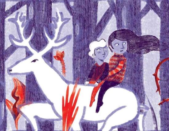 Illustration by Paria Peyravi