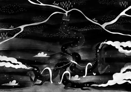 Illustration by Rina Allek