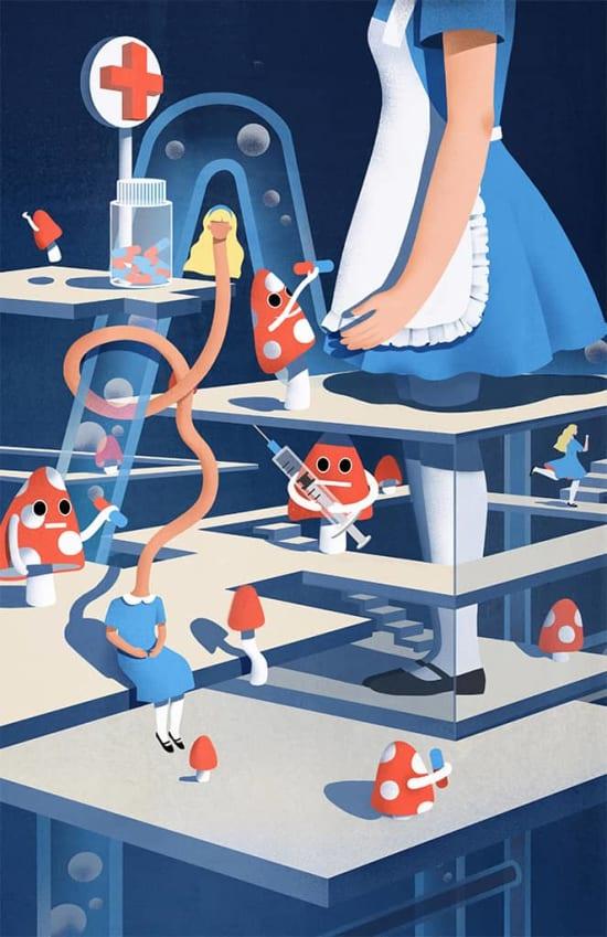 Illustration by Meiyu Zhang