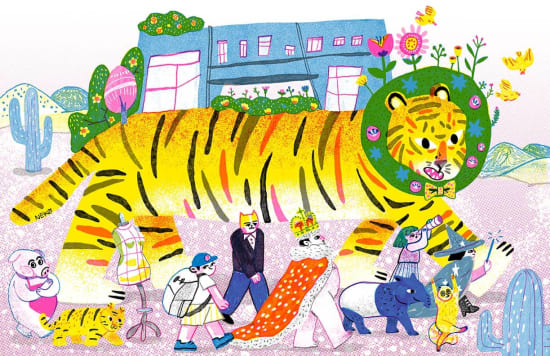 Illustration by Neko Jiang