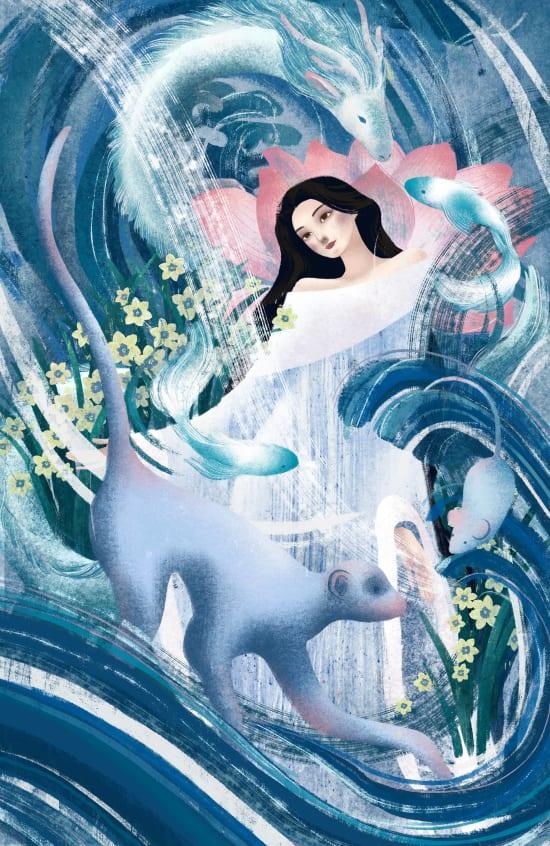 Illustration by Jane Liu