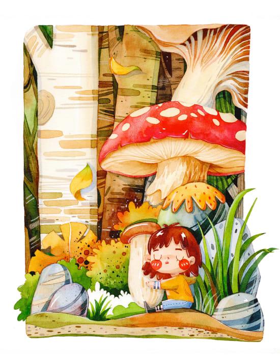 Illustration by QiZhan