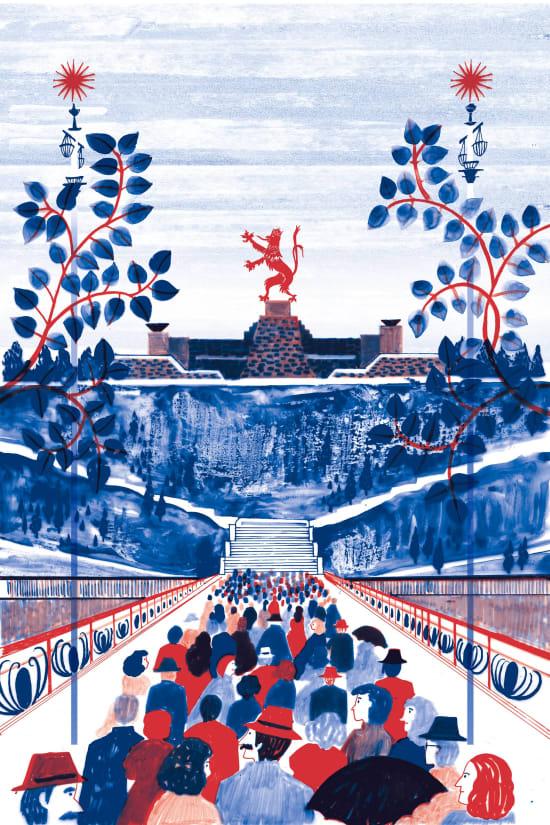 Illustration by Saki Matsumoto