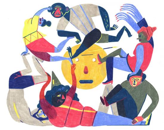 Illustration by Norbert Fuckerer