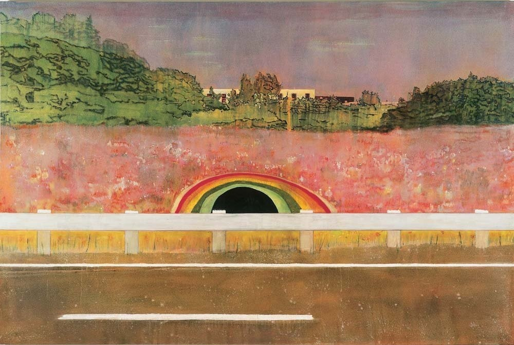 <div class=&#34;title_year&#34;>Country Rock, 1998/9</div><div class=&#34;medium_dimensions&#34;>oil on canvas, 200 x 300 cms79 x 118 in</div>