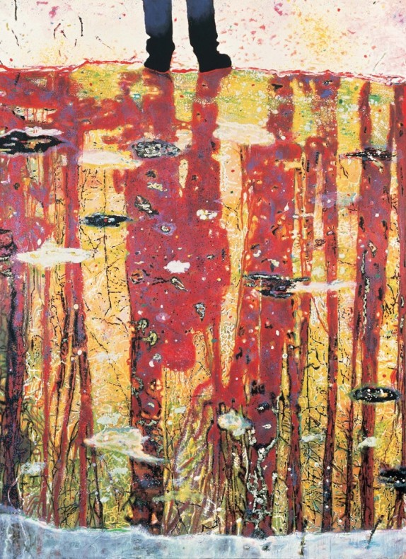 <div class=&#34;title_year&#34;>Reflection ( What does you soul look like), 1996</div><div class=&#34;medium_dimensions&#34;>Oil on canvas, 295 x 200 cm
