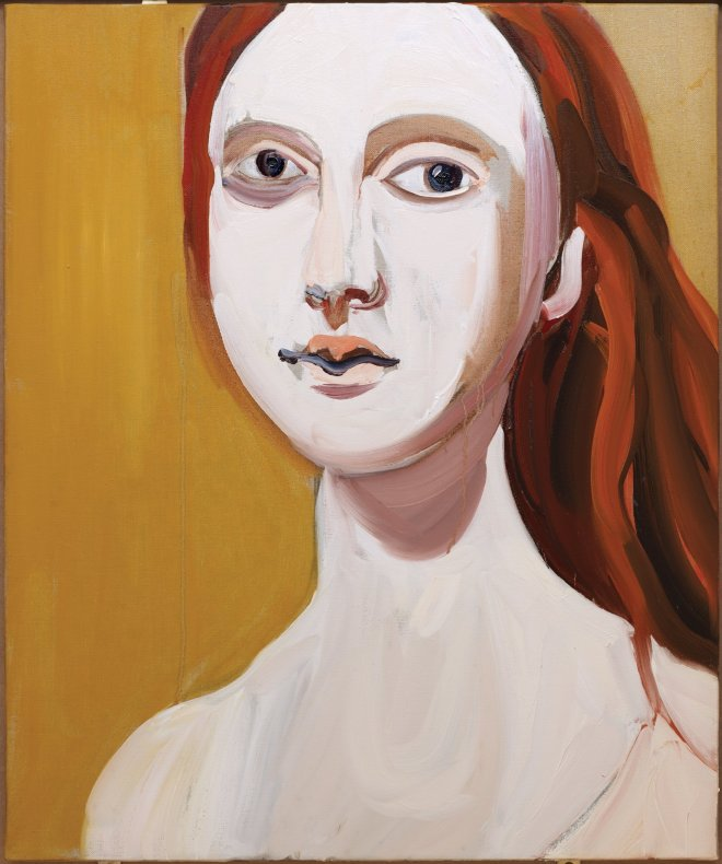 <div class=&#34;title_year&#34;>Red Head on Ochre, 2012</div><div class=&#34;medium_dimensions&#34;>Giclee print, Image: 40 x 33 cm, 15 3/4 x 13 in