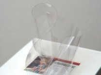 <em>Untitled #8 (transparent film and magazine cut)</em>, 2007-2008