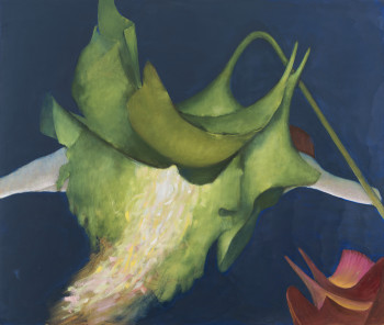 DOROTHEA TANNING: FLOWER PAINTINGS