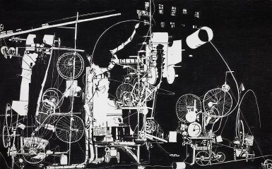 <em>H.2.N.Y. Tinguely Machine Erases its own Construction in 27 Minutes</em>, 2007