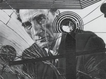 Dan Fischer - Duchamp Behind Glass