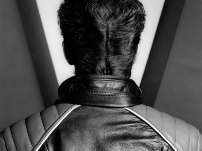 Robert Mapplethorpe    - Self Portrait