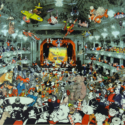 Sir Peter Blake - Marcel Duchamp's World Tour - DC Thomson Reunion at the Tower Ballroom, Blackpool