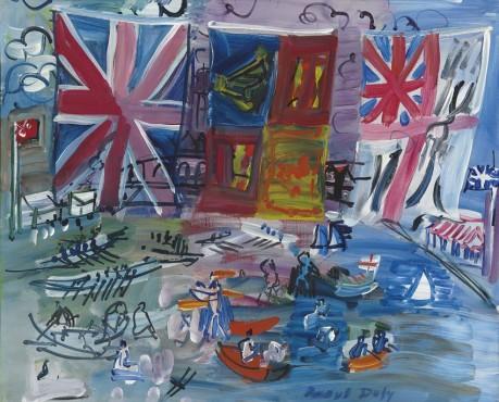 <span class=&#34;artist&#34;><strong>Raoul Dufy</strong></span>, <span class=&#34;title&#34;><em>R&#233;gates &#224; Henley</em>, c.1933</span>
