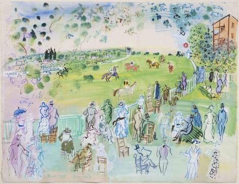<span class=&#34;artist&#34;><strong>Raoul Dufy</strong></span>, <span class=&#34;title&#34;><em>Le Champ de courses d'Ascot</em>, 1935</span>
